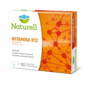 Naturell, Witamina B12, 60 tabletki do ssania