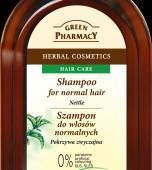 GREEN PHARMACY, szampon pokrzywowy, 350ml