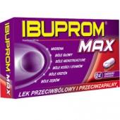 Ibuprom MAX 400mg, 24 tabletki