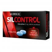 Silcontrol 25mg, 4 tabletki