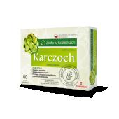 Zioła w tabletkach - Karczoch, 60 tabletek