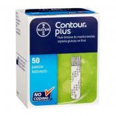 Contour Plus, 50 pasków testowych