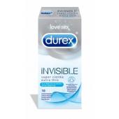 Prezerwat. Durex Invisible dla większej bliskości