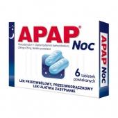 Apap Noc, 6 tabletek