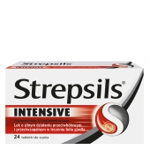 Strepsils Intensive, 24 tabletki do ssania