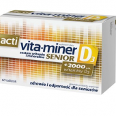 Acti Vita-miner Senior D3, 60 tabletek