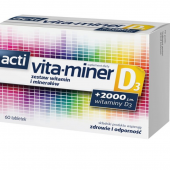 Acti Vita-miner D3, 60 tabletek