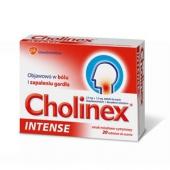 Cholinex Intense, miód+cytryna, 20 tabletek do ssania
