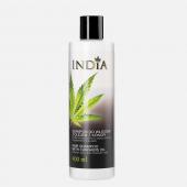 INDIA, szampon do włosów z olejem z konopi, 400ml