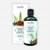 INDIA, olejek do masażu malinowy, 100ml