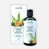INDIA, olejek do masażu cytrusowy, 100ml