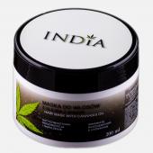 INDIA, maska do włosów z olejem konopnym, 200ml