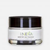 INDIA, krem do twarzy z olejem konopnym, 50ml