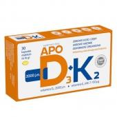 ApoD3 + K2, 30 kapsułek