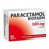 Paracetamol Biofarm 500mg, 50 tabletek