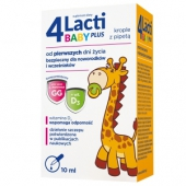 4 Lacti Baby Plus, krople, 10ml