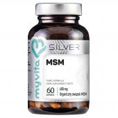 MyVita SILVER MSM, 60 kapsułek