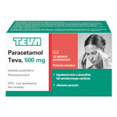 Paracetamol Teva, 24 tabletki