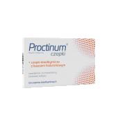 Proctinum, 10 czopków