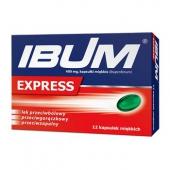 Ibum Express 400mg, 12 kapsułek