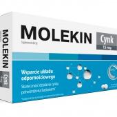 Molekin Cynk 15mg, 30 tabletek