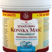 Herbamedicus Końska Maść Chłodząca, 250ml + 50ml gratis