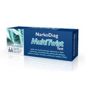 NarkoDiag MultiTwist, test na narkotyki ze śliny