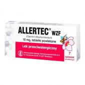 Allertec WZF 10mg, 7 tabletek