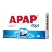 APAP Caps, 10 kapsułek