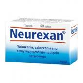 Heel Neurexan, 50 tabletek