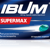Ibum Supermax 600mg, 10 kapsułek