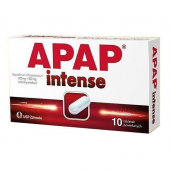 Apap Intense, 10 tabletek