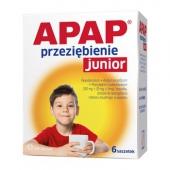 Apap Przeziębienie Junior, 6 saszetek