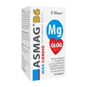 Asmag B6 Max Cardio, 30 tabletek