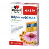 Doppelherz Aktiv Odpornośc MAX + Echinacea, 20 kapsułek