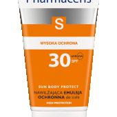 PHARMACERIS S, nawilżająca emulsja ochronna SPF 30 do ciała, 200ml