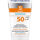 PHARMACERIS S, bezpieczny krem ochronny SPF 50+ do twarzy dla dzieci od chwili narodzin, 50 ml