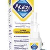 Acatar Allergy, aerozol do nosa, 10ml