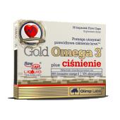 Olimp, Gold Omega 3 plus ciśnienie, 30 kapsułek