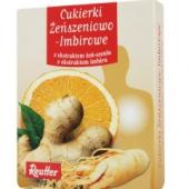 Reutter, cukierki żeńszeniowo-imbirowe, 50g