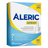 Aleric Spray, aerozol do nosa, 60 dawek