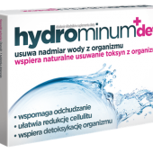 Hydrominum + Detox, 30 tabletek