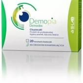 Demopia Demodex, sterylne chusteczki, 20 sztuk