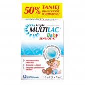 Multilac Baby, krople, 2 butelki po 5ml