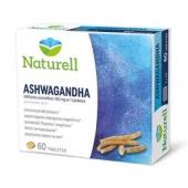 Naturell, Ashwagandha, 60 tabletek