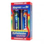 Zdrovit Magnez + wit. B6, 24 tabletki musujące + Multiwitamina, 20 tabletek musujących