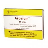 Aspargin, 50 tabletek