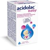 Acidolac Baby, krople doustne, 10ml