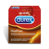 Prezerwatywy DUREX RealFeel, 3 sztuki