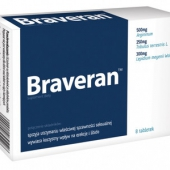 Braveran, 8 tabletek